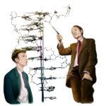 Jim Watson and Francis Crick